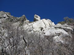 Rock Climbing Photo: No clue what's what here.  There seems to be littl...