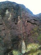 Rock Climbing Photo: My poor rope!