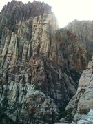 Rock Climbing Photo: Some peaks at Red Rocks, not sure what wall exactl...