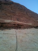 Rock Climbing Photo: Looking up The Pet Wall according to Shawn Neal. M...