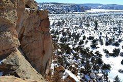 Rock Climbing Photo: Breech Baby 5.11a FA Onsight