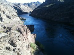 Looking down the Colorado River