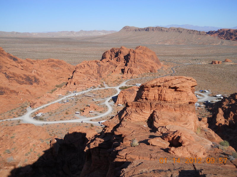 Valley of Fire, RV
