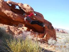 Rock Climbing Photo: Just hanging...