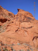 Rock Climbing Photo: Valley of Fire, red