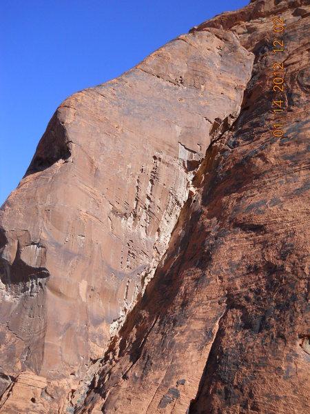 Climb that rock