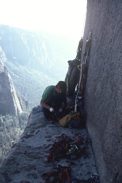 Rock Climbing Photo: El Cap Tower, 1979