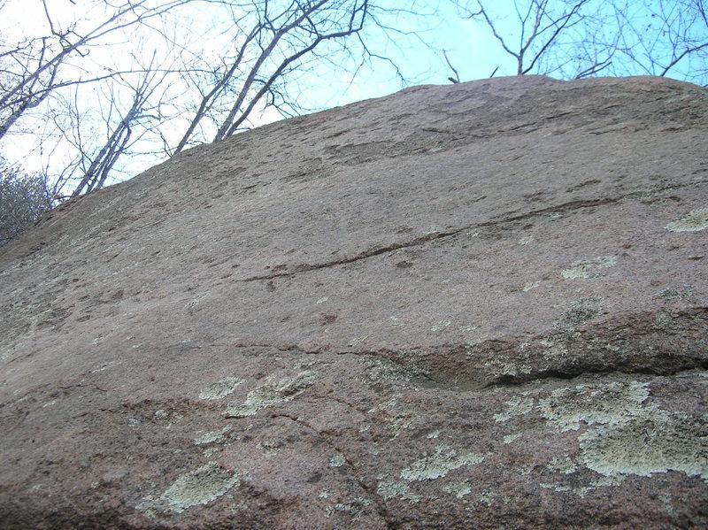 Rock Climbing Photo: Sensational Slab, closeup of climbing surface.