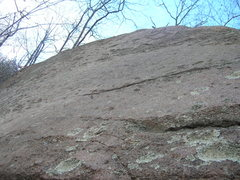 Rock Climbing Photo: Sensational Slab, closeup of climbing surface.