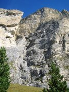 Rock Climbing Photo: Location of the Via Rossi Tomasi route.