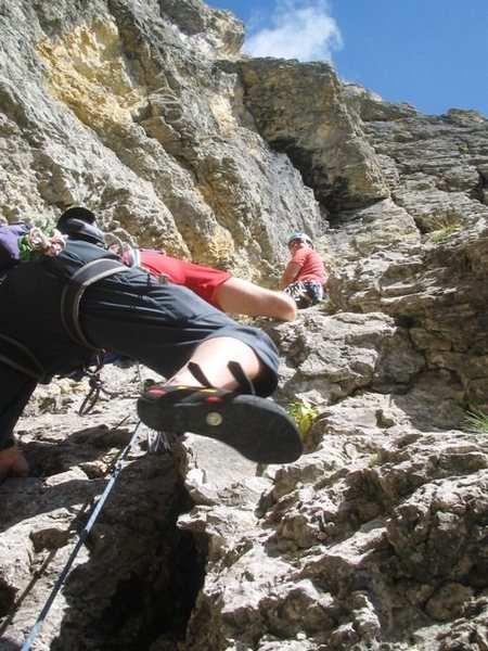 Fourth pitch of Via Rossi Tomasi