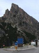 Rock Climbing Photo: Hexenstein from the pass