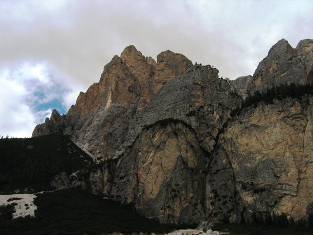 Rock Climbing Photo: Cunterines-Spitze from Sass Dlacia