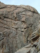 Rock Climbing Photo: WASP area. At least 3 routes in this shot.  We're ...