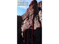 Rock Climbing Photo: May Wall Climbs.