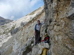 Rock Climbing Photo: Next in line.