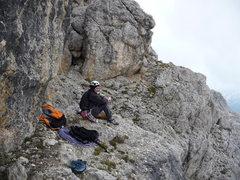 Rock Climbing Photo: It might rain.  Lets wait a minute.