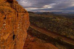 Rock Climbing Photo: An evening run on The Cross