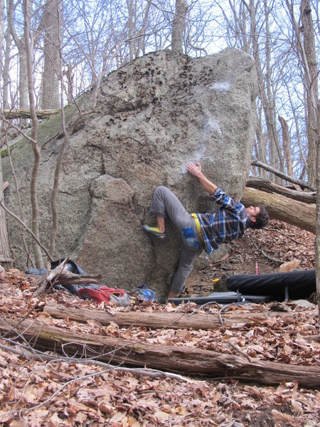 "Aaron James Parlier working on the FA of ""Seventh Son"" (V8ish)"