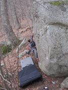 Rock Climbing Photo: Starting Chalaza