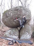 Rock Climbing Photo: Aaron James Parlier on Verge