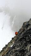 Rock Climbing Photo: Sharkfin, Cascades, Washington.