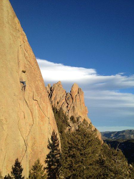 Rock Climbing Photo: Photo: Ben Cook.