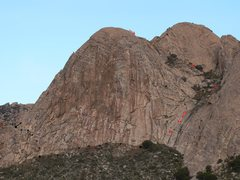 Rock Climbing Photo: Another quick/efficient option: Leave packs at Oak...