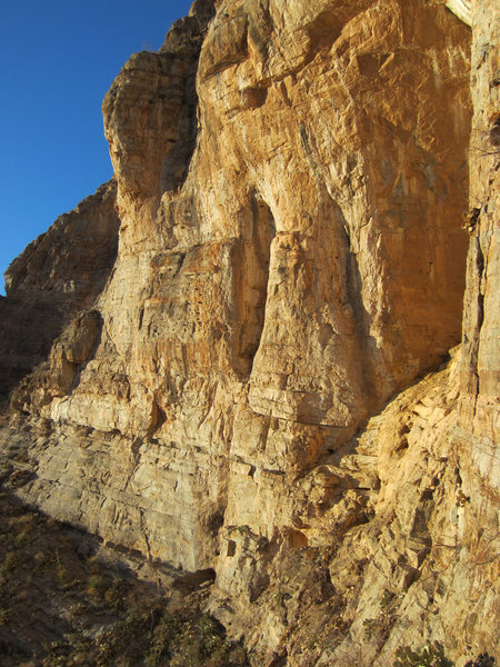 Rock Climbing Photo: The AWESOME! New Beginnings Wall -  (Left of the B...