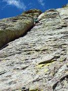 Rock Climbing Photo: lucander on p. 2 of El Cracko Diablo.  Photo by Sc...