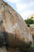 Rock Climbing Photo: Spencer V4 Topo