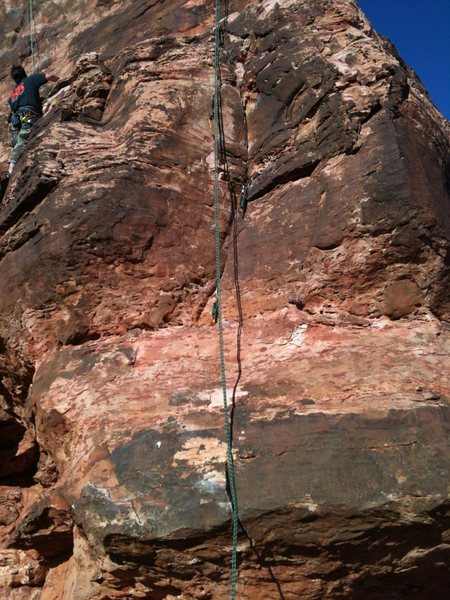 Rock Climbing Photo: The guy in photo is on Chicken Soup for the Soul.
