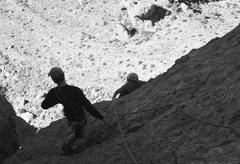 Rock Climbing Photo: scott and riley