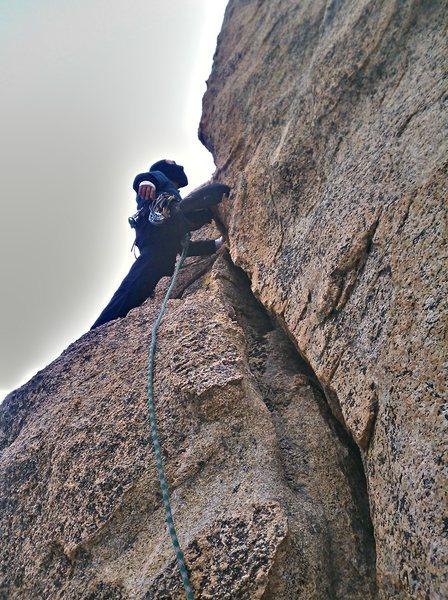Rock Climbing Photo: Piece of carp