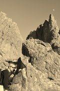 Rock Climbing Photo: headed back to the car