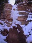 Rock Climbing Photo: Conditions, 01-14-12.