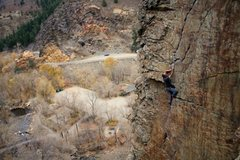 Rock Climbing Photo: james stylin a BCC classic
