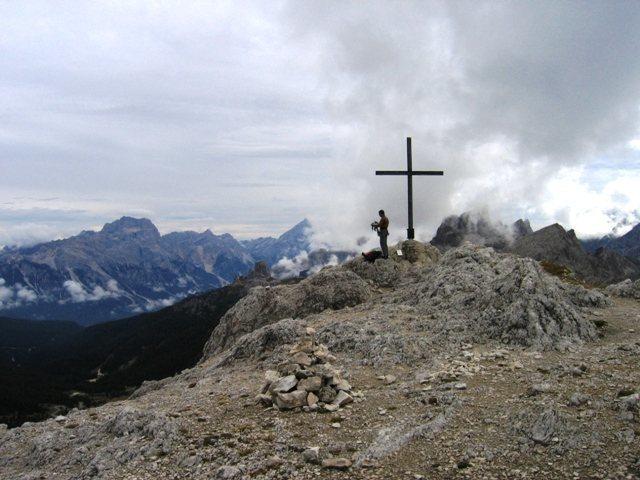 Summit of the Sass de Stria