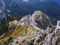 Rock Climbing Photo: View from the South Rib of the Hexenstein.  Amazin...