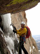 Rock Climbing Photo: Jack on Blind Assumption in Nov 2009