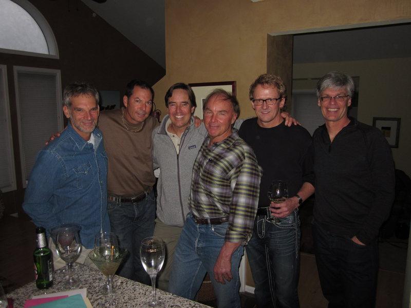 Jon Krakauer, Rob Pincus, Rob Raker, Jack Roberts, Rick Thompson, Dougald McDonald.