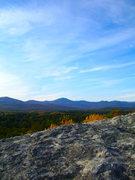 Rock Climbing Photo: View from Jockey Cap into NH
