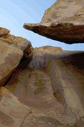 Rock Climbing Photo: Might go free at 5.12-?????