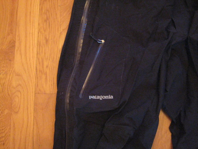 Leg pocket close-up