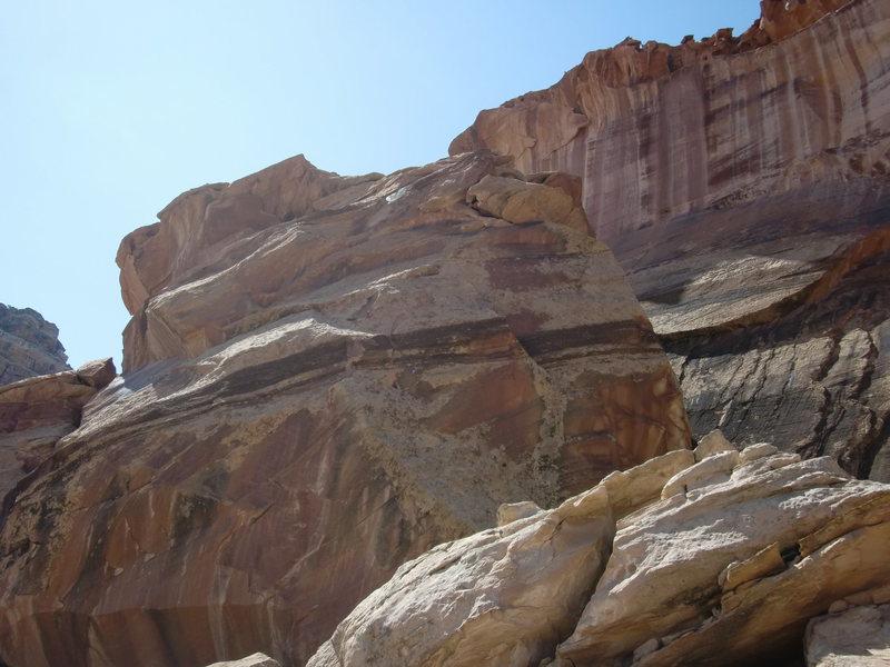 sandstone slab anyone?
