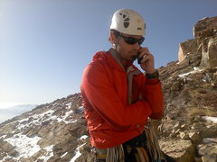 Rock Climbing Photo: Getting close to the top. Work never fails to find...