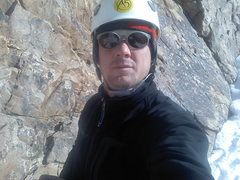 Rock Climbing Photo: Travis Taylor's self portrait