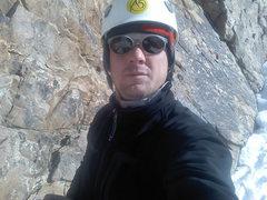 Rock Climbing Photo: Travis Taylor's self portrait