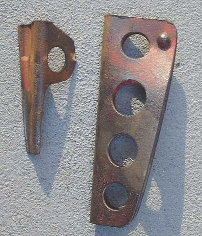 Antique hardware found on The Shrike.