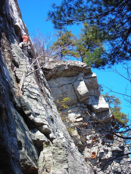 Rock Climbing Photo: Limelight 2nd pitch